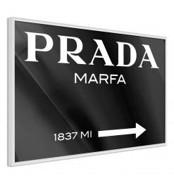 Póster - Prada (Black)