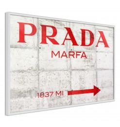 Póster - Prada (Red)