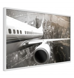 Póster - Plane Wing