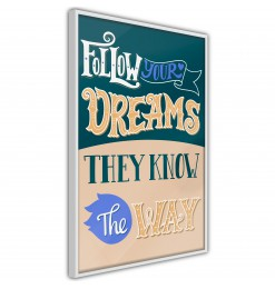 Póster - Dreams Know the Way