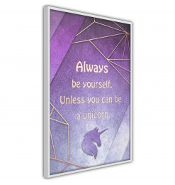 Póster - Always Be Yourself