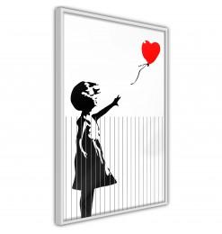 Póster - Banksy: Love is in...