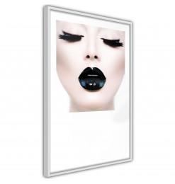 Póster - Black Lipstick