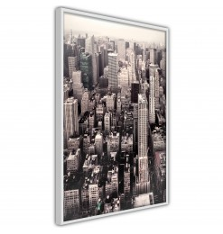 Póster - New York from a...