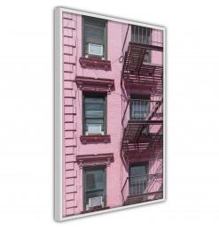 Póster - Pink Facade