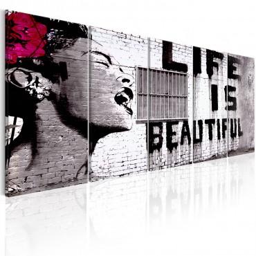 Cuadro - Banksy: Life is...