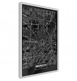 Póster - City Map: Munich...
