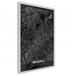 Póster - City Map: Brussels...