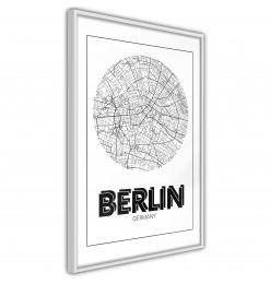Póster - City Map: Berlin...