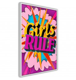 Póster - Girls Rule (Colour)