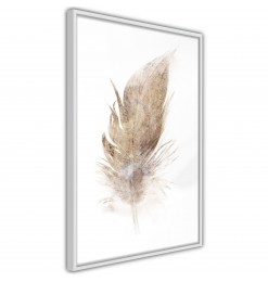 Póster - Lost Feather (Beige)