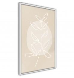 Póster - Pastel Plant