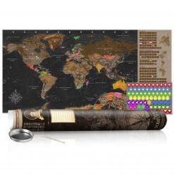 Mapa para rascar - Mapa...