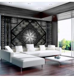 Fotomural - Mosaico negro