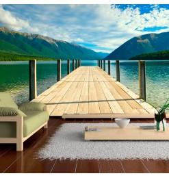Fotomural - Un puente de un...