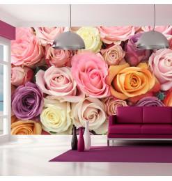 Fotomural - Colores rosa...
