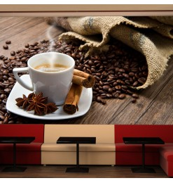 Fotomural - Star anise coffee