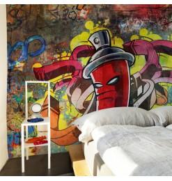 Fotomural - Graffiti monster