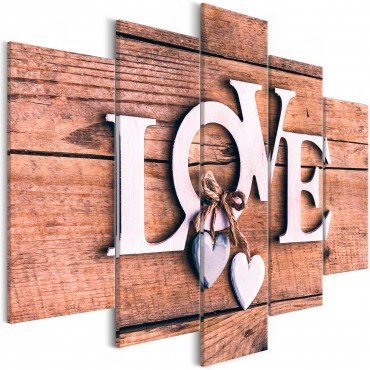 Cuadro - Wooden Letters...