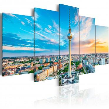 Cuadro - Berlin TV Tower,...