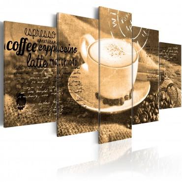 Cuadro - Coffe, Espresso,...