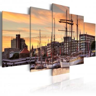 Cuadro - Port of Hamburg