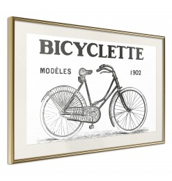Póster - Bicyclette