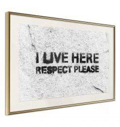 Póster - Respect