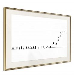 Póster - Birds on a Wire
