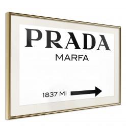 Póster - Prada (White)