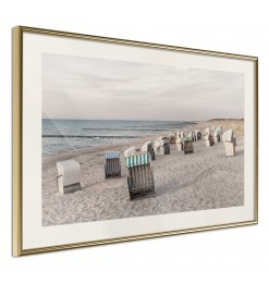 Póster - Baltic Beach Chairs