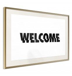 Póster - Welcome