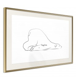 Póster - Resting Polar Bear