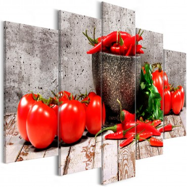 Cuadro - Red Vegetables (5...