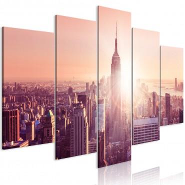 Cuadro - Sun over Manhattan...