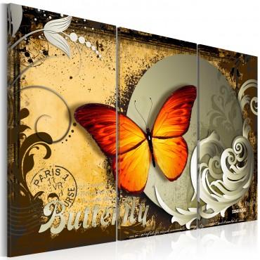 Cuadro - Vuelo de la mariposa