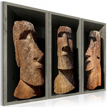 Cuadro - Moai (Easter Island)