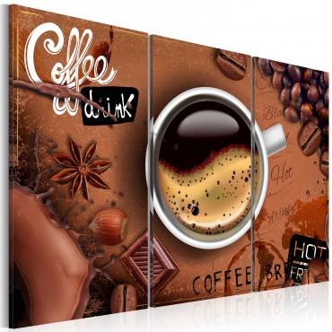 Cuadro - Taza del café...