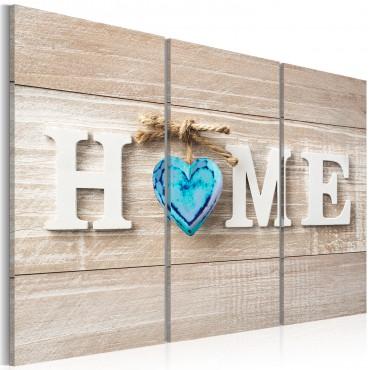 Cuadro - Home: Blue Love