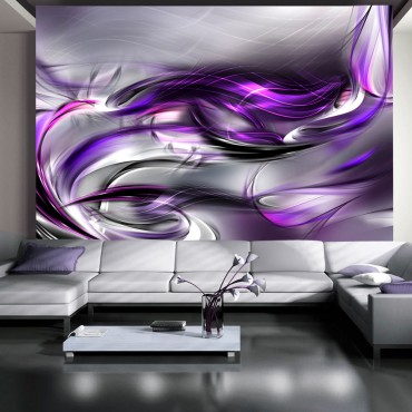 Fotomural - Remolinos púrpuras