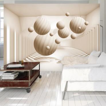 Fotomural - Beige Balls
